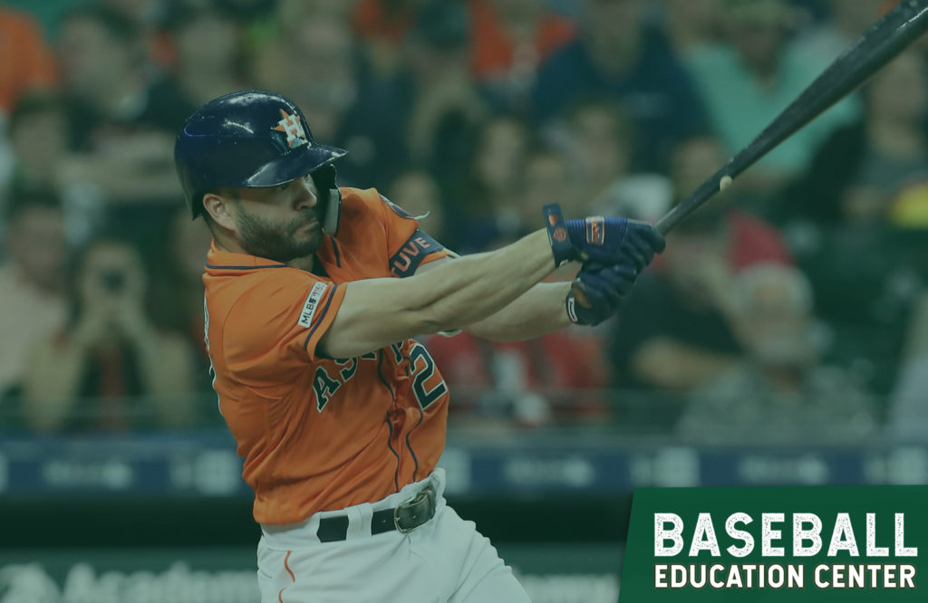 Altuve hits .792 when he does this…